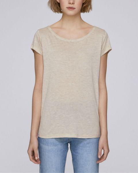 Damen   T-Shirt aus Modal-Naturfasern