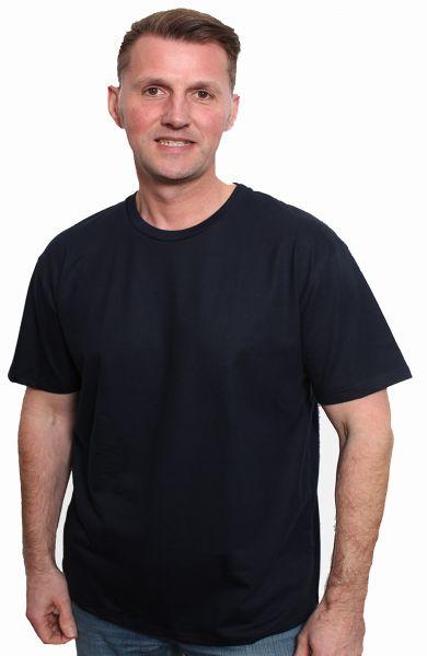 Herren   T-Shirt aus Bio-Baumwolle, Made in Germany bis 2XL