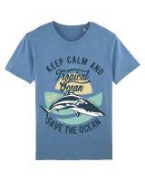 Save The Ocean | Herren T-Shirt aus 100% Baumwolle