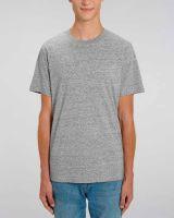 Santos | Basic T-Shirt aus schwerer Bio-Baumwolle, meliert