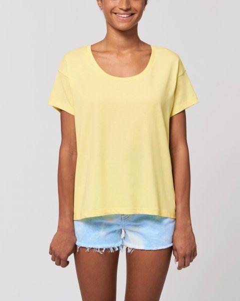 Sommerliches Damen T-Shirt aus Bio Baumwolle