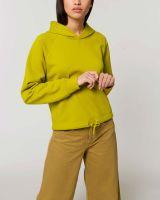 Kurzes Damen Kapuzensweatshirt