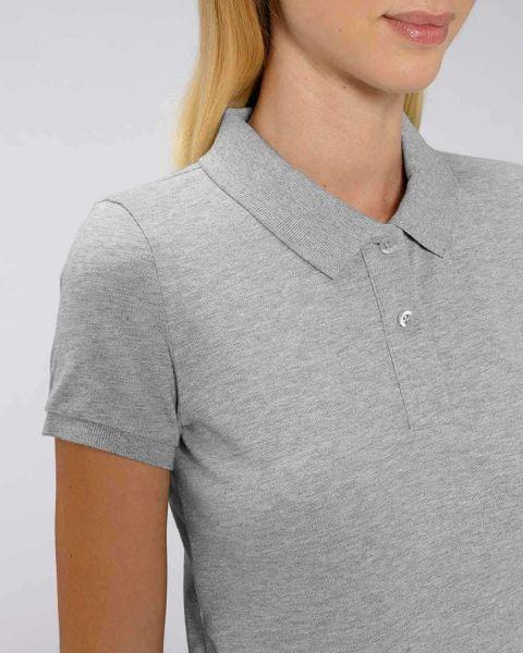Deborra | Poloshirt meliert