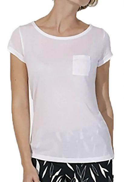 Damen | T-Shirt aus Modal-Naturfaser mit Brusttasche