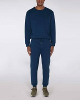 Herren | Jogginghose in Black Heather Blue