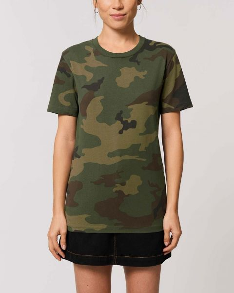Fair Trade T-Shirt im Camouflage Look