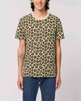 Fair Trade T-Shirt im Leoparden Look