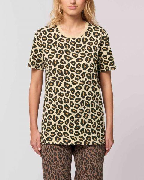 Fair Trade T-Shirt im Leoparden Look