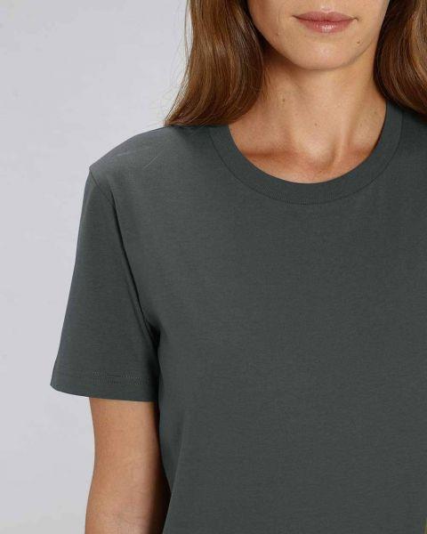 Cho | Basic T-Shirt Schwarz, mittelschwer