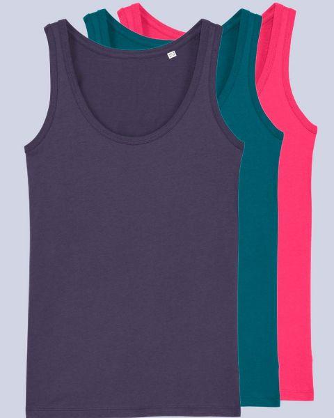 Damen Top 3er Pack, verschiedene Farbkombinationen