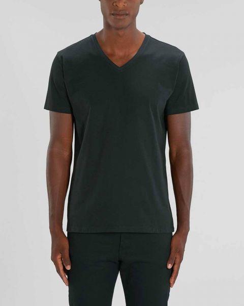 Pepe | Basic Shirt mit V-Ausschnitt in Schwarz