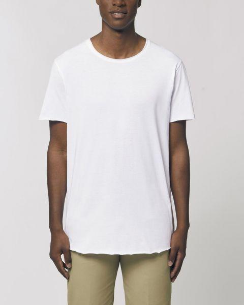 Extra langes T-Shirt aus Bio-Baumwolle; Fairtrade