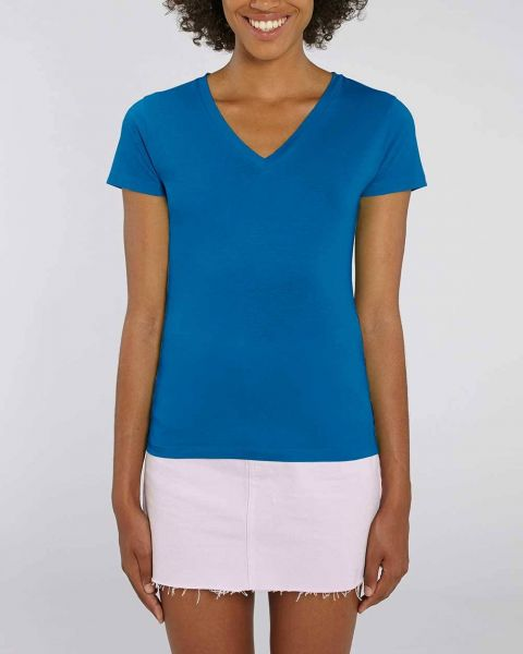 Emmi   Bio T-Shirt mit V-Ausschnitt in verschiedenen Farben