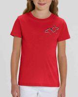 T-Shirt für Kinder| Theodor Strom DGS  | Rot